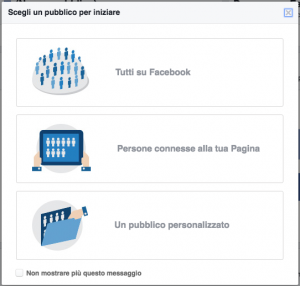 insights sul pubblico faceboook pubblici