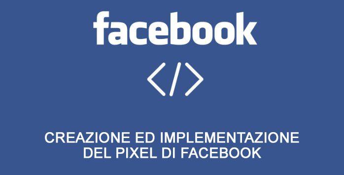 come installare il pixel di facebook