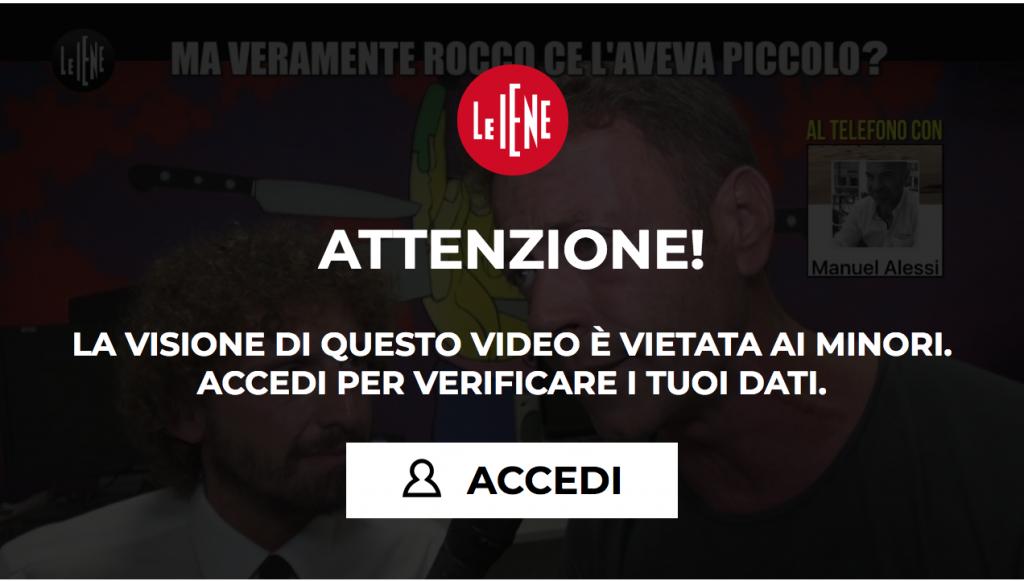 Rocco Siffredi - Le Iene