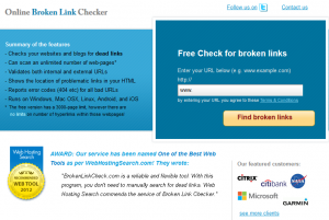 brocken link checker