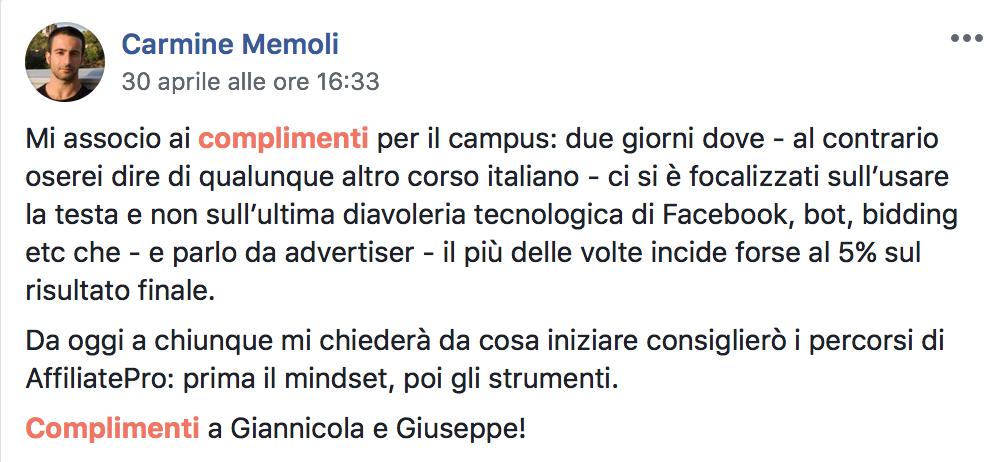 Carmine Memoli