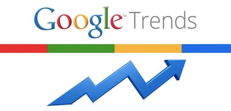 usare google trends
