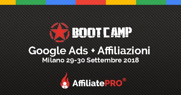 Google Ads + Affiliazioni