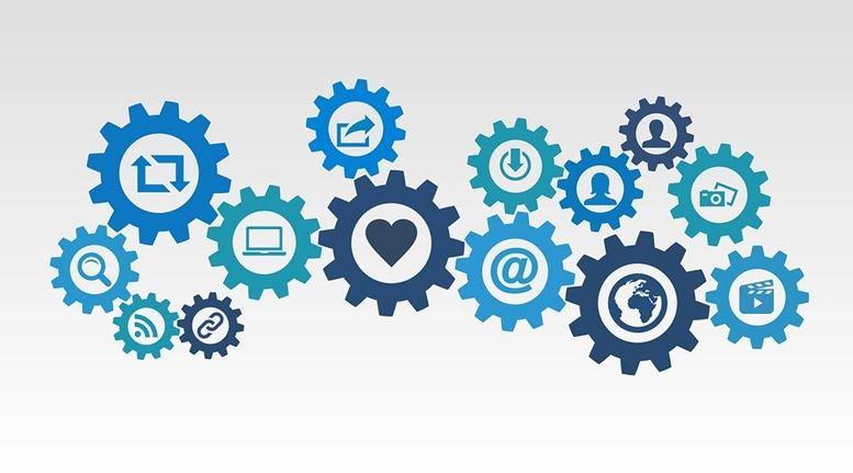 Rappresentazione grafica icone legate al digitale