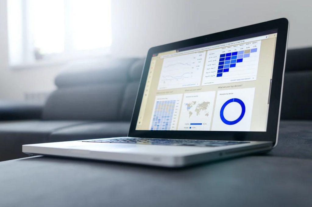 Prodotti da vendere in affiliazione_la foto mostra la schermata con dei dati